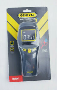 General Tools Mm8 Pinless Moisture Meter Tester With Tricolor Bar Graph Detector