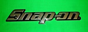 Genuine Snap On Tools Tool Box Emblem Logo Badge 3d New 7 1 2 X 1 5 8 Chrome