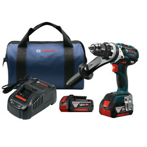 Bosch Hdh18301rt 18v Brute Tough 1 2 In Hammer Drill Kit Certified Refurbished