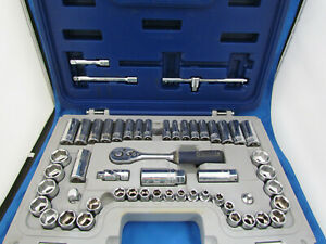 Expert By Mac Tools 53 pc Set 3 8 Dr Sae metric 6 pt e031812 W case 123941c