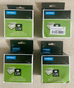 Dymo 30252 Labelwriter Lw White Mailing Address Labels 1 1 8 x 3 1 2 Lot Of 4