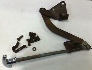 1949 Pontiac Silver Streak Slant Back Under Dash Emergency Brake Handle Unit