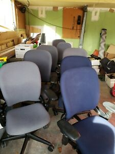 Used Office Furniture Chairs steelcase Tb117 Fabric Office Chairs