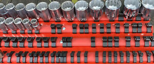 Wright Tool 3 8 And 1 2 Drive 12 Point Socket Set 3 8 1 1 4 Usa Like New