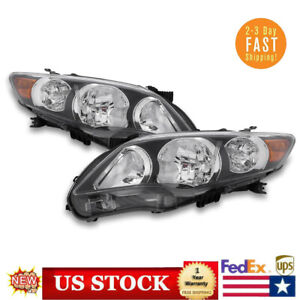 For 2011 2012 2013 Toyota Corolla Headlight Headlamp Left Right Lamp Aftermarket