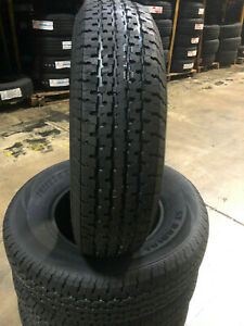 4 New St205 75r14 Freedom Hauler Trailer Tires 8 Ply 205 75 14 St 2057514 R14 St