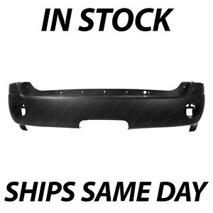 New Primered Rear Bumper Cover Replacement For 2002 2009 Gmc Envoy Suv 02 09