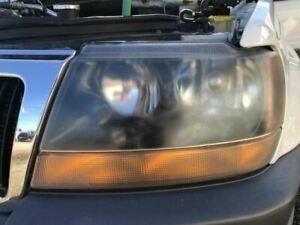 Driver Headlight Crystal Clear Fits 99 04 Grand Cherokee 271267