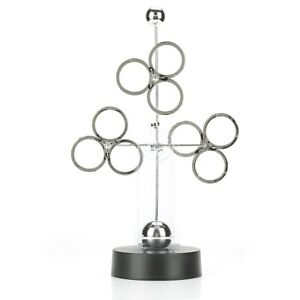 Revolving Balls Perpetual Motion Desk Physics Science Toy Office Decoration