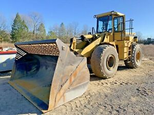 Cat 966f Wheel Loader High Reach Dfaz
