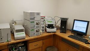 Hplc System Varian Prostar With Flourescence Detector And Fraction Collector