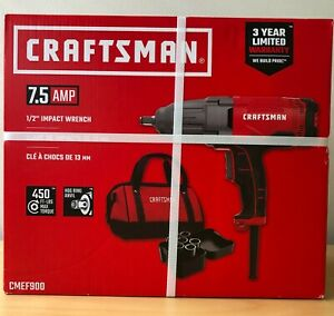 Brand New Craftsman 7 5 Amp Cmef900 1 2 Corded Impact Wrench