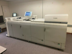 Canon Imagepress C6010 Dual Creo Rip Saddle Finisher Aj2 Extremely Low Print