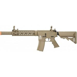 Lancer Tactical Gen 2 SD Nylon Polymer AEG Airsoft Rifle TAN LT 15CT G2 $169.00