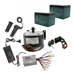24v 500w Electric Motor Speed Controller Batteries For Mobility Scooter Atv Bike