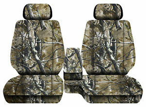 Car Seat Covers Camo Woods Fits Toyota Tacoma 2001 2004 Front Bench 60 40 2hr