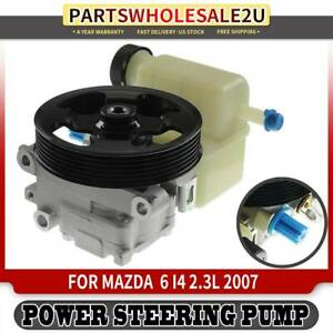 Power Steering Pump W Reservoir W Pulley For Mazda 6 2007 Gp9a32600 21 162