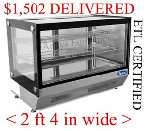 New Refrigerated Display Case Merchandiser Nsf food Truck Friendly Crds 42