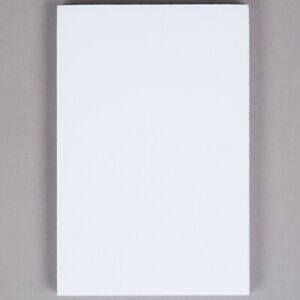 Netko White Plain Notepads 100 Sheets Blank Memo writing Pads 4 X 6 10 Pack