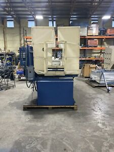Nordson Nhc 4 Reclaim Powder Coating Booth 22 x36 Opening Refurbished