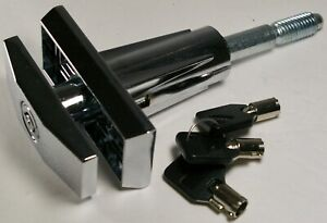 Vending Machine T handle Assembly And Upgraded Lock With 3 keys Short Shaft