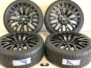 22 Rims Wheels tires Range Rover Autobiography Hse Sport Land Rover Finch Edi