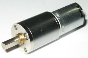 6 V 80 Rpm Miniature Multistage Metal Gearhead Electric Dc Motor 3mm Shaft