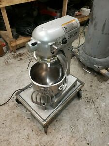Hobart 20 Qt A200 Mixer Stainless Bowl Paddle Whip Hook Late Model