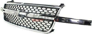 New Gm1200589 Grille Assembly Fits 2003 2006 Chevrolet Silverado 1500 19122337