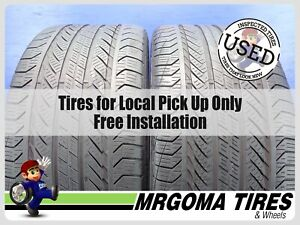 2 Continental Procontact Gx Ssr Moe Rft 275 40 19 Used Tires 63 8 Rmng 2754019