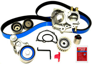 Engine Timing Belt Kit With Wate Fits 2004 2009 Subaru Legacy outback Forester i