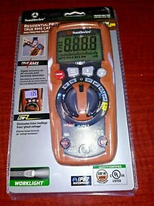 Southwire 13070t Residentialpro Auto ranging Digital Multimeter True rms Cat111
