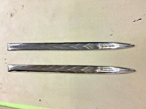1951 Chevy Tin Woody Stainless Trim Exterior Set Rear Doors Pass Driver Sides