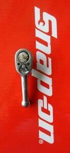 Snap On Tools 3 8 Drive 4 Long Stubby Ratchet Fk720 Ships Free