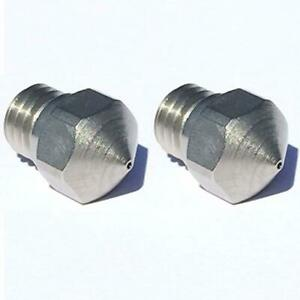 Micro Swiss High Lubricity Wear Resistant Nozzle Upgrade Mk10 0 4 Mm 2 Pcs F