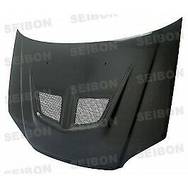 Seibon Evo Style Carbon Fiber Hood For 2001 2003 Honda Civic