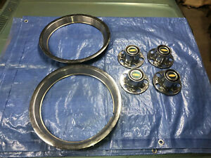 1983 84 85 86 87 88 Ford Ranger Xlt Truck Center Cap Set Plus Two Trim Rings 83