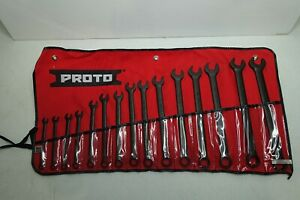 Proto Wrench Set Combo 15 Pc 12 Pt Metric J1200f masd