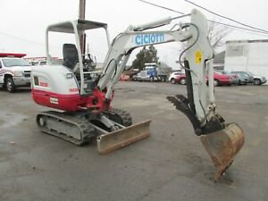 2015 Takeuchi Tb230 Mini excavator Rubber Track Low 453 Hours 1 owner