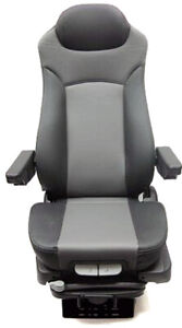 Prime Seating 300l Truck And Bus Seat Grey Leather Adjustable Seat