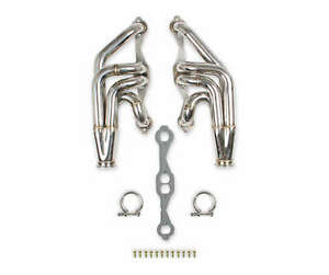 Flowtech 11570flt Flowtech Small Block Chevy Turbo Headers Polished Finish