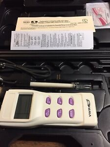 New Traceable Expanded Range Conductivity Meter Control Company vwr With Case