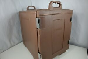 Carlisle Pc300n Cateraide End Loading Insulated Food Pan Carrier 5 Pan Cap