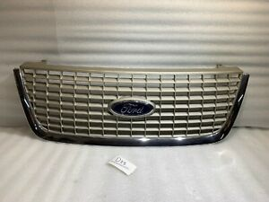 2003 2006 Ford Expedition Oem Front Grille Grey With Emblem 2l14 8200 Adw