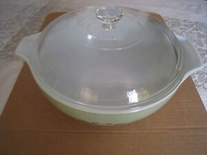 Pyrex Ovenware Ceramic Mixing Bowl W Glass Lead