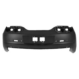 New Primered Rear Bumper Cover Fascia For 2010 2013 Chevy Camaro W Park Assist