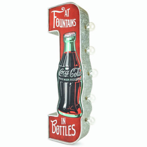 Coca-Cola LED Marquee Sign - Double Sided Light - Coke at Fountains