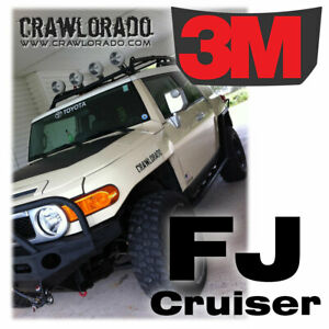 Fj Cruiser Hood Decal Sticker Toyota Fjc Blackout 3m High Quality