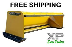 7 Xp24 Pullback Snow Pusher Skid Steer Bobcat Case Caterpillar Free Shipping