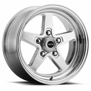 Four 4 15x7 American Muscle 571 Sport Star Ii Et 0 Polished 5x114 3 5x4 5